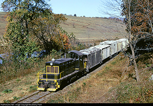 VBR 12 Under Rt. 29 Tye River VA Nov. 1973