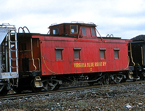 VBR Caboose 2 Piney River April 1959 WG