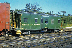 VBR caboose 3 blt 1948 SR March 25 1961