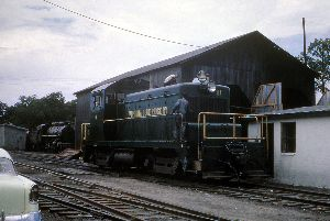 VBR 11 Piney River August 1963 VBR 5 4039 in rear