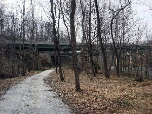 VBR Trail - Rt 29 Overpass Tye River md