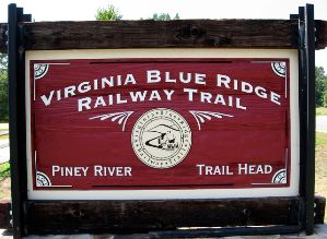 VBR Trail Sign