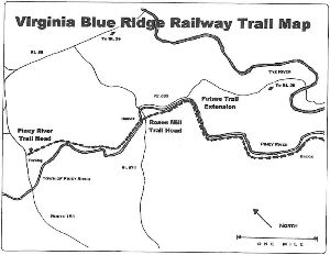 VBR Va Blue Ridge Rail Trail Map
