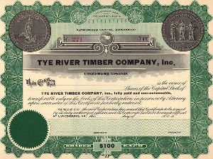 VBR-Tye River Timber Stock