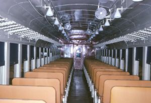 EL Conrail MU interior repainted Dec