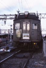 lackElec 57 Last Day F of 3000DC service Last MU run at Hoboken w 3454 on head end 8 24 1984 SPH