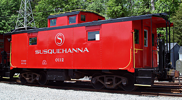 NYS&W Caboose 0112