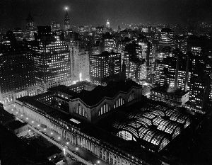 Penn Station NYC Night